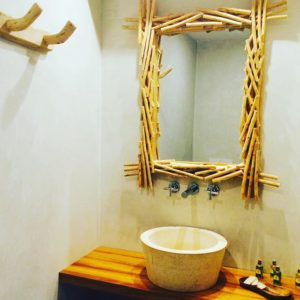 Apartment bathroom Hotel Sesparteria