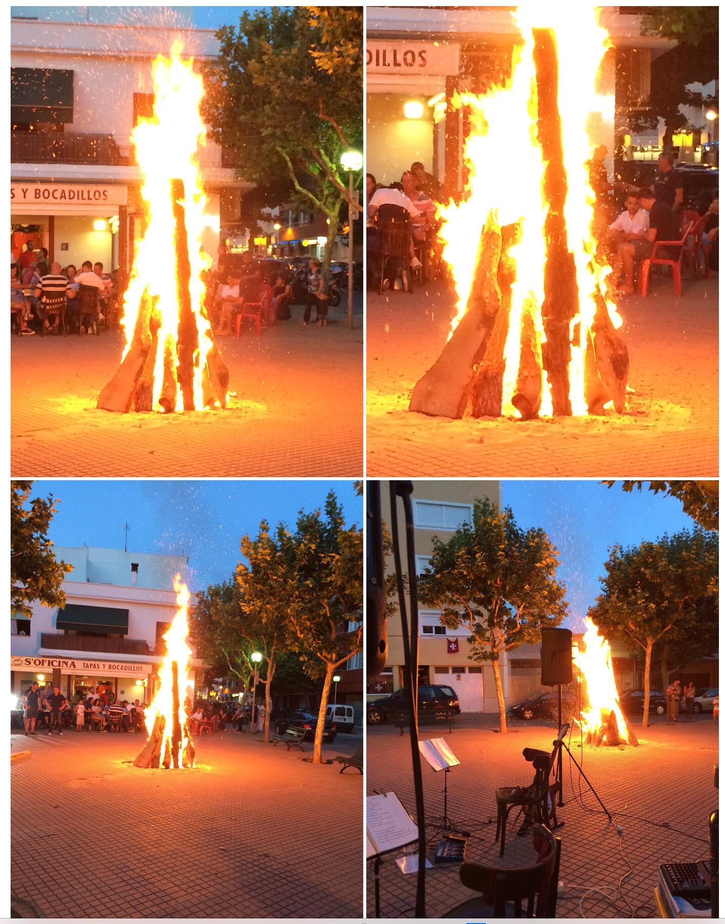 Foto fogones Sant Joan Ciudadella Menorca